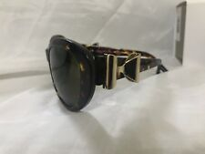 673e4a303bf85 BN AGENT PROVOCATEUR   LINDA FARROW TORTOISE BROWN GOLD BOW SUNGLASSES RP  £245