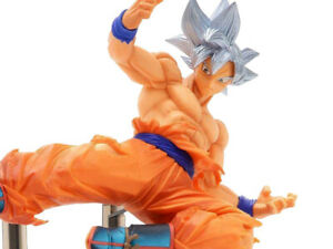 Dragon Ball Super Son Goku FES Stage 8 Ultra Instinct Anime BANPRESTO Figure