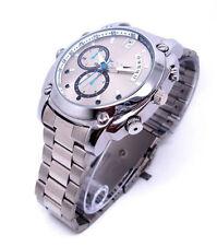 32 GB 1080P SPY Hidden DV IR Night Vision Steel Wrist Watch Digital Video Camera