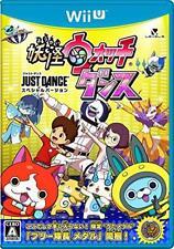 Nintendo Wii U Youkai Watch Dance JUST DANCE Special Version JAPAN