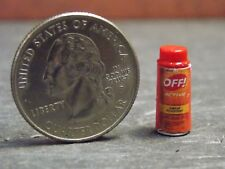 Dollhouse Miniature OFF Insect Repellant Spray Can F 1:12 G19 Dollys Gallery