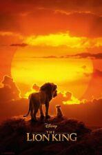 LION KING LIVE ACTION - MUFASA & SIMBA POSTER - 22x34 - DISNEY MOVIE 17682