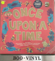 """Once upon a time, 12"""" vinyl record Lp Tv Stars Compilation Ex Con"""