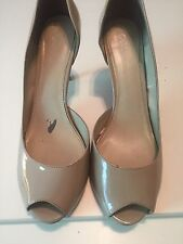 Nude Cato Patent Leather Heels Women's Size 12