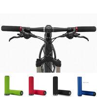 1 Pair Bicycle Cycling MTB Bike Soft Sponge & Silicone Handlebar Lock On Grips