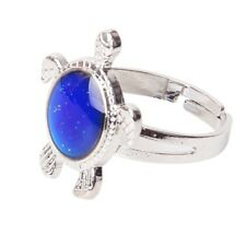 1X(Turtle Color Changing Mood Ring Adjustable R3J7)