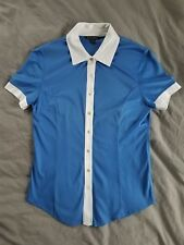 Vintage Brooks Brothers Women's Button Up Short Sleeve Polo Shirt XS