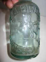 VTG R. M. BIRD & CO STRATFORD ON AVON GLASS BOTTLE - COLLECTIBLE - TUB RH-3