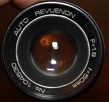 AUTO-REVUENON F=1.8/50mm - Pentacon 50/1.8 copy - M42 w/ soft case
