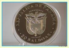 "Panama, 20-Balboas 1974 ""Simon Bolivar"" Silber/PP"