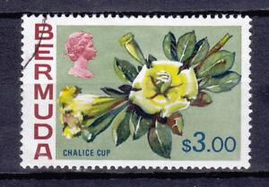Bermuda QEII 1970 Flowers SG265a  Used ... Very Fine