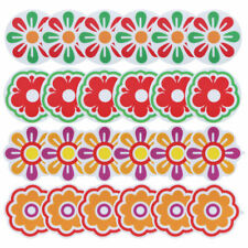 10cm Non-Slip Flowers Appliques Safety Shower Treads Anti-slip Stickers for Tubs
