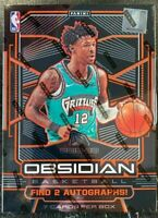 2019/20 PANINI OBSIDIAN BASKETBALL FACTORY SEALED HOBBY BOX MORANT ZION RC ?