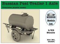 Mirror Models #35204 1/35 Russian Fuel Trailer 1 Axle