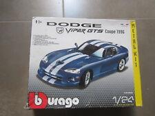 KIT 1/24 MAQUETA  DODGE VIPER GTS COUPE 1996 INCOMPLETA