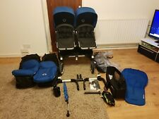 Bugaboo Donkey Twins/Double/Single Royal Blue Full Package