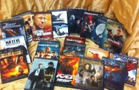 Lot of 20 DVD Favorite Movies Collection Classic Action Library Must Have VG!