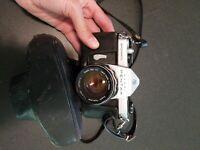 Asahi Pentax Spotmatic  With SMC  Takuma 50mm F1.4 Lens