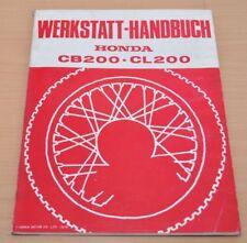 Honda CB CL 200 Motor Vergaser Kupplung Elektrik 1975 Werkstatthandbuch Motorrad