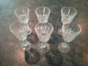 Waterford Crystal Lismore Liqueur Glasses (Set Of 6)