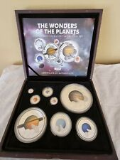 More details for 2014 wonders of the planets boxed coin set .amazing set.