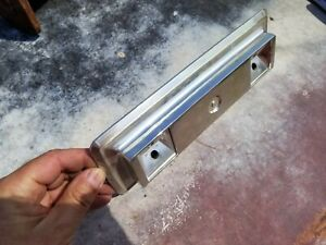 1968 1969 1970 DODGE CHARGER PLYMOUTH ROADRUNNER CHROME REAR ARM REST BASE USED