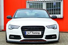 Sonderaktion Spoilerschwert Frontspoiler mit Wing aus ABS für Audi A5 B8 S-Line