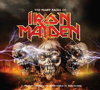 Various Artists : The Many Faces of Iron Maiden CD 3 discs (2018) ***NEW***