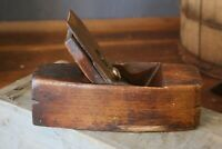 Antique Wood Plane Coffin Box TB & CO Plane Woodworking tool Old vintage blade