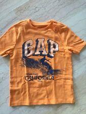 "GAP 1969: T-SHIRT GARÇON ""CALIFORNIA USA"" TAILLE 6-7 ANS, ENTIÈREMENT NEUF"