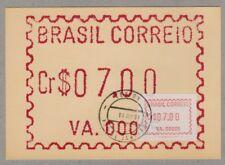 Brasilien * Brasil * Brazil Frama ATM VA.00005 * Maxicard * first day 10 JUN 81