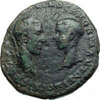 MACRINUS & DIADUMENIAN Authentic Ancient 217AD Roman Coin w NEMESIS i79023