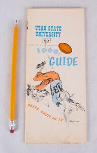 Utah State Football Media Guide, 1960 w Merlin Olson, Bill Munson, 9-2 Season