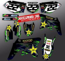 2003 2004 2005 2006 2007 2008 KX 125 / KX 250 GRAPHICS ROCKSTAR : GREEN / BLUE