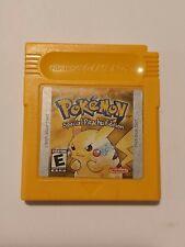 Pokemon Yellow Version  **Authentic** GameBoy Color (GBC)