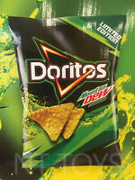 Doritos Tortilla Corn Chips Mountain Dew Flavor 150g Bag RARE LIMITED EDITION
