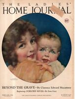 1926 Ladies Home Journal February Cover only by J Knowles Hare