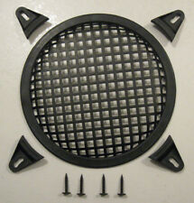 "8"" Steel Mesh Speaker Grille With Plastic Mounting Clamps New"
