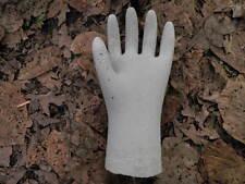 """10 1/2"""" Tall Cement Hand Garden Art Concrete Statue Really Cool Halloween?"""