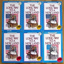 Lot 6 THE LONG WAY TO A NEW LAND Joan Sandin immigration 1868 guided reading