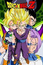 Poster A3 Dragon Ball Goku Vegeta Trunk Gohan Piccolo