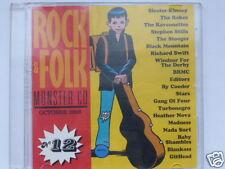 ROCK & FOLK  MONSTER CD  VOL.12, 20 TITRES, TRES BON ETAT