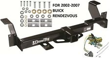 2002-2007 BUICK RENDEZVOUS TRAILER HITCH W/ WIRING KIT DRAW-TITE CLASS III NEW