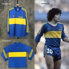 Diego Maradona Boca Juniors 1981 Long Sleeve Jersey Retro Soccer