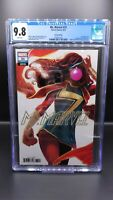 Ms Marvel 31 CGC 9.8 Sephanie Hans Variant 1st Appearance Skunk Girl Kamala Khan