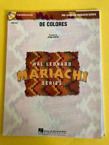 De Colores arr. Juan Ortiz, for Mariachi Band, Score and Parts