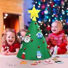 3D Cone DIY Craft Felt Christmas Tree for Toddlers Preschool Children Xmas Gifts