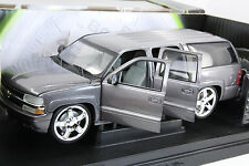 "ERTL/Joyride 1:18 scale ""THE FAST AND THE FURIOUS"" 2000 Chevy Suburban SUV(Grey)"