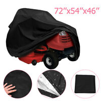 55'' Riding Lawn Mower Tractor Cover Garden Outdoor Yard UV Protector