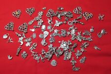 One Hundred Pewter Charms Super Deal For Jewelry Makers